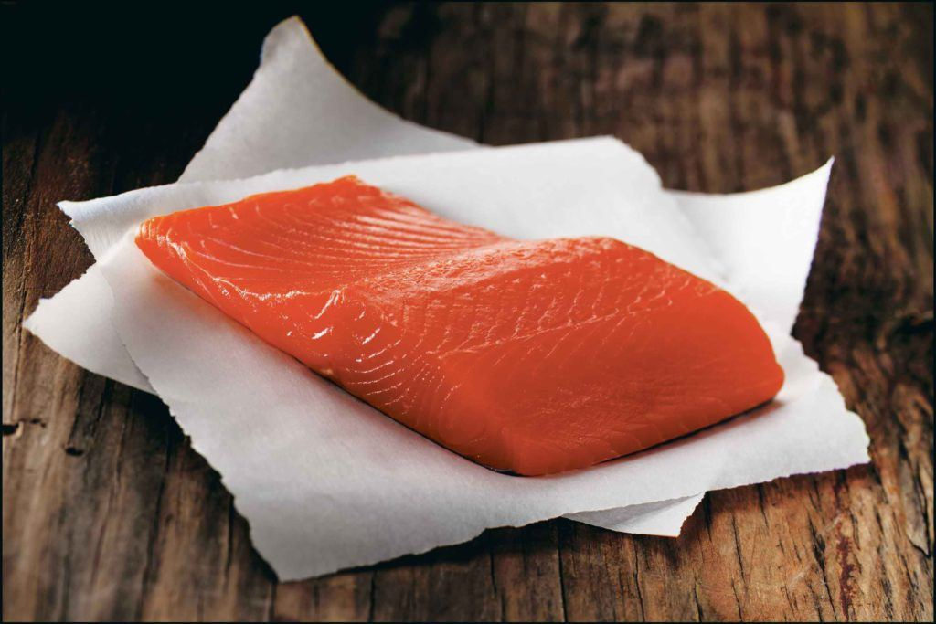 Raw Alaskan Coho Fillet