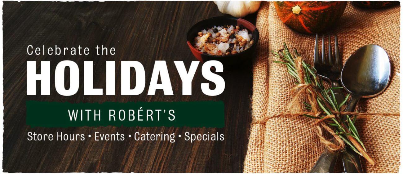 Holidays with Robért's