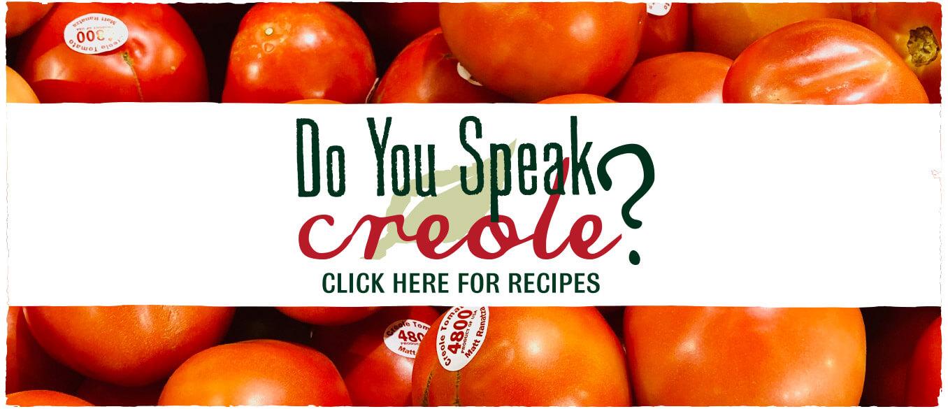 Do You Speak Creole?