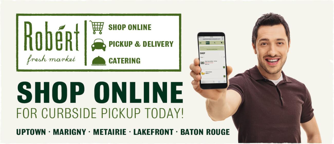 Shop Online at Robért's!