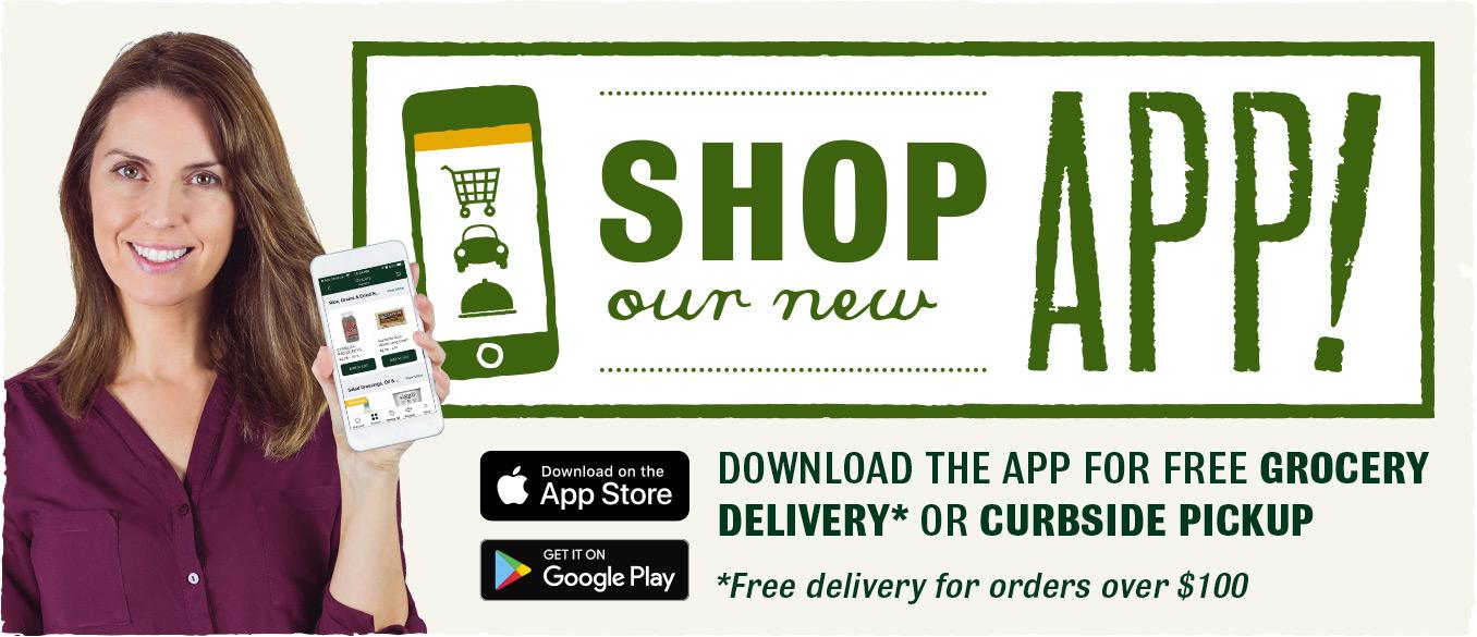 Shop our App!